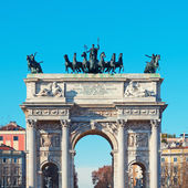 Arch of Peace, Milan - Italy — Stock Photo