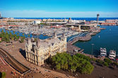 Port de Barcelona, Spain — Stock Photo