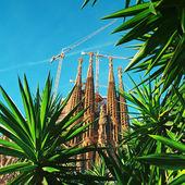 Sagrada familia, barcelona - españa — Foto de Stock