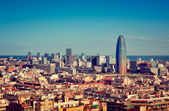 Quartiere finanziario di Barcellona — Foto Stock
