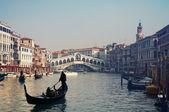 Rialto Bridge, Venice - Italy — Stock Photo