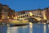 Rialto Bridge, Venice - Italy — Stock Photo