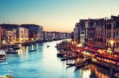Gran canal, venecia - italia — Foto de Stock
