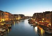 Grand canal, wenecja - włochy — Zdjęcie stockowe