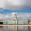St. Petersburg Kunstkammer. Spring in the city. Russia — Stock Photo #10118429