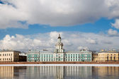 St. Petersburg Kunstkammer. Spring in the city. Russia — Stock Photo
