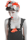 Pin-up girl — Stockfoto