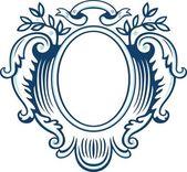 Decoratief frame — Stockvector