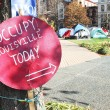 Stock Photo: Occupy Louisville Protest