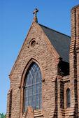 Romanesk kilise — Stok fotoğraf