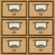 Royalty-Free Stock Vector Image: Wooden furniture