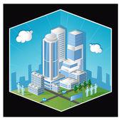 Skyscraper — Stock Vector