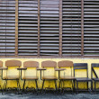 School Chairs — 图库照片