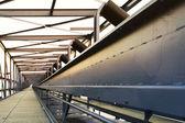 Ponte trasportatore — Foto Stock