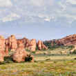Arches National Park, Utah, USA - Stock Photo