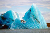 Icebergs, Jokulsarlon, Iceland — Stock Photo