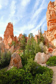 Bryce Canyon hoodoos — Stock Photo