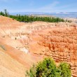 Stock Photo: View on erosion process in Bryce Canyon NP
