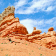 Stock Photo: Red rock nearby Bryce Canyon NP