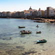 Waterfront of Trapani - Stockfoto