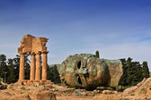 Vadisi tapınak agrigento — Stok fotoğraf