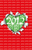 The end of 2011 — Stock Vector