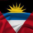Flag of Antigua and Barbuda — Stok fotoğraf