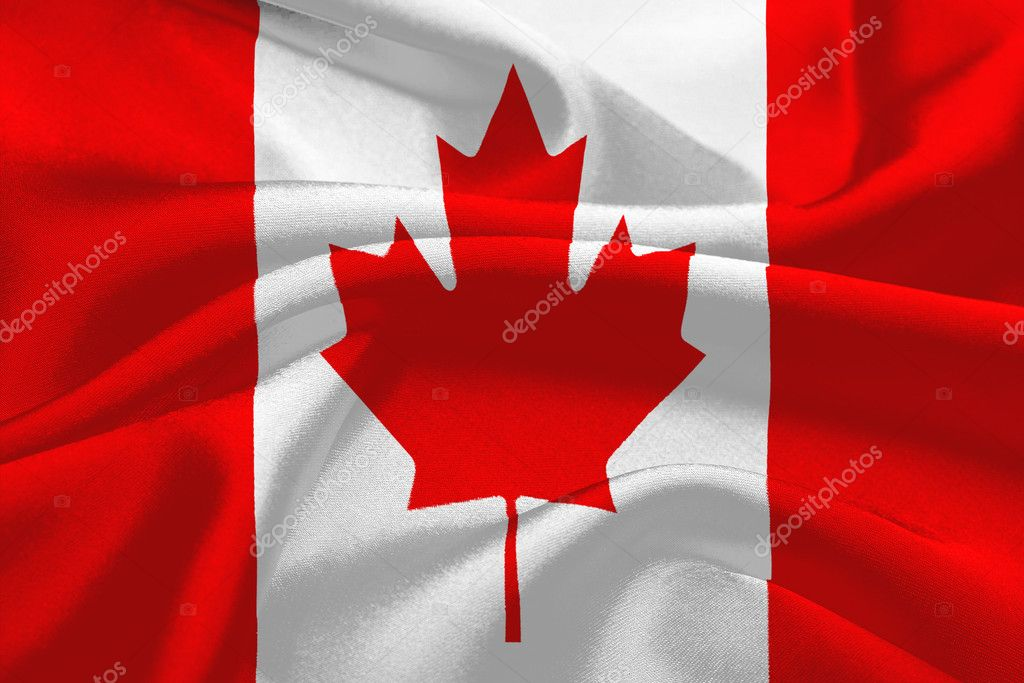 The Flag of Canada — Stock Photo #8997335