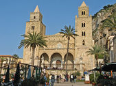 Cathedral Cefalu — Stock Photo