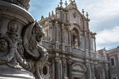 Catania Cathedral (Duomo) — Stock Photo