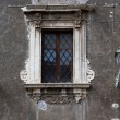 A baroque window — Stock Photo