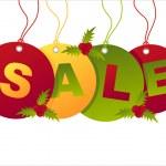 Christmas sale tags — Stock Vector #8162499