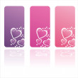 Royalty-Free Stock Vector Image: Colorful st. valentine\'s day frames