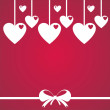 St. valentine's day background — Image vectorielle