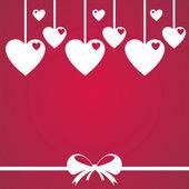 день святого валентина день фон — Cтоковый вектор