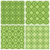Söta klöver mönster — Stockvektor