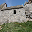 Stock Photo: St Govans ruins in Pembrokeshire