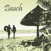 Beach 19 — Stock Vector