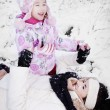 Winter fun — Stock Photo #8419851