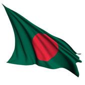 Drapeau du bangladesh rend illustration — Photo
