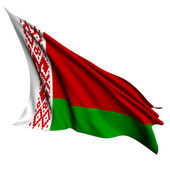 Belarus flag render illustration — Foto de Stock