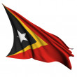 East Timor flag render illustration — Stock Photo