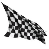 Finish flag — Stock Photo