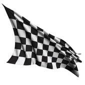 Terminar a bandeira — Foto Stock