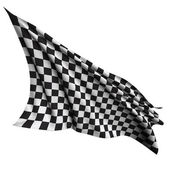 Race flag — Foto Stock