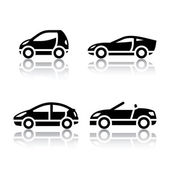 Set of transport icons - Vehicles — Stock Vector