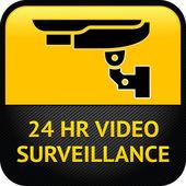 CCTV symbol — Stock Vector