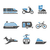 Transport Icons - A set of fifth — Stock Vector