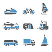 Transport Icons - A set of third — Stock Vector