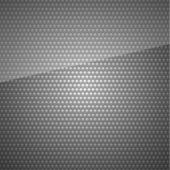 Seamless metal surface, Dark gray background perforated sheet, 10 eps — Stock Vector